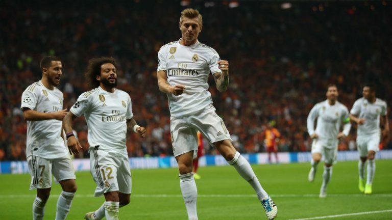 El Madrid respira en Estambul.