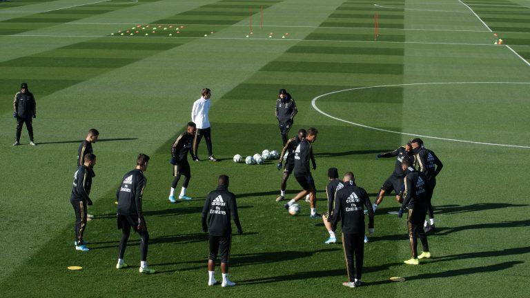 FOTOGALERÍA: Entrenamiento Real Madrid 8 noviembre 2019.