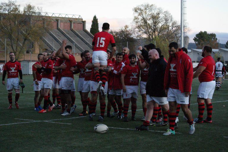 Épica remontada del Mangas Verdes-Rugby Alcalá