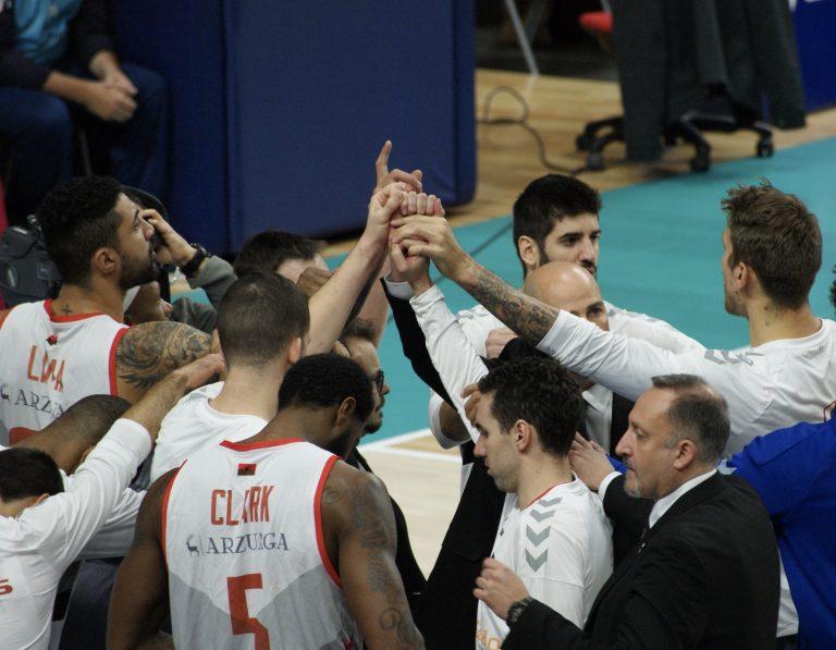 Triunfo de San Pablo Burgos en la Basketball Champions League (60-65)