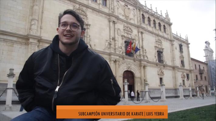 Luis Yebra: Subcampeón Universitario de Karate de Madrid